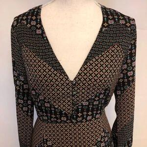 Le Kate Boho Dress Back Cut-out